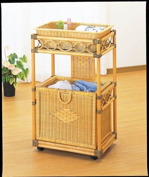 天然の温もりと柔らかな印象が和みます ランドリー 収納家具 ランドリーボックス 洗濯籠 洗濯カゴ 送料無料