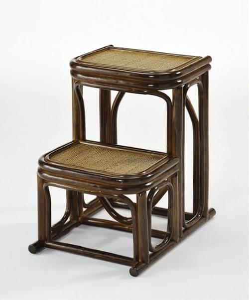 天然素材藤の踏み台 藤踏み台 イス・チェア 座椅子 籐製 送料無料