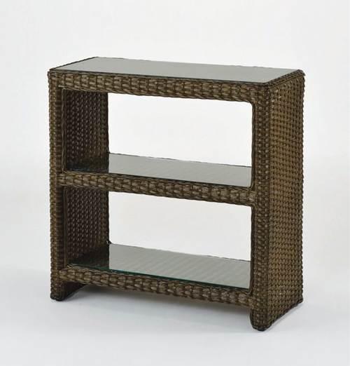 ラタンならではの自然な味わいと洗練された現代的デザイン 藤飾り棚 収納家具 棚・シェルフ 送料無料