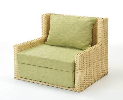 サッとベッドにもなる三つ折れソファ 籐ソファー&ベッド ソファベッド 籐製 ラタン 送料無料 ソファ ソファー 北欧 シンプル ナチュラル モダン 新生活