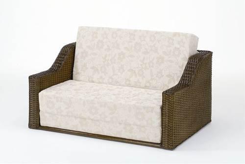 普段使いはおしゃれな籐ソファーで、座面を手前に引き出すとベッドに早変わり! ソファベッド ソファベット ソファーベッド ソファーベット 籐製 ラタン 送料無料 ソファ ソファー 北欧 シンプル ナチュラル モダン 新生活
