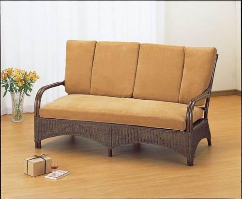 暮らしをぬくもりで満たすラタンのナチュラルな存在感。 ラブチェアー イス・チェア 座椅子 籐製 送料無料