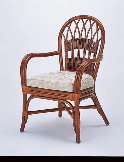 笑い声が似合う明るくカジュアルなダイニング。 籐ダイニングチェアー イス・チェア 座椅子 籐製 送料無料