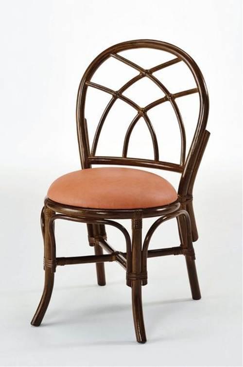 ダイニングチェアー イス・チェア 座椅子 籐製