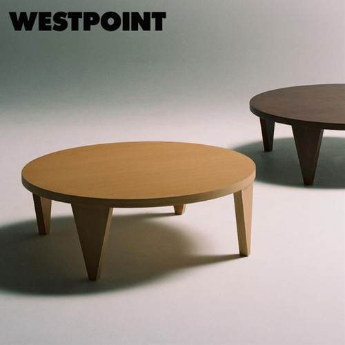 Folding Wooden Japanese Modern Style Low Table Leg Tables 120 R Circular Round Legs