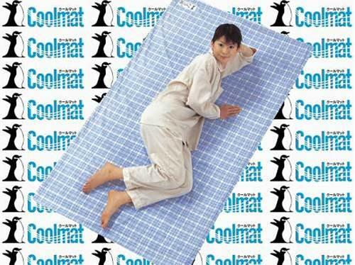 【送料無料】備長炭敷マット「クールマット」ダブル備長炭クールマット ひんやりクール 冷感 経済的 涼感 送料無料