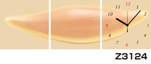 日本初!300種類以上のデザインから選ぶパネルクロック◆3枚のアートパネルの壁掛け時計◆hOur DesignZ3124種【アート】【代引不可】 送料無料
