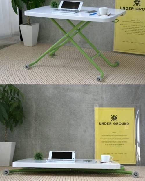 【送料無料】LT-キュート リフティングテーブル 昇降可能 折りたたみ縦置き収納可能 完成品 昇降テーブル 昇降式テーブル リフティングテーブル ホワイト センターテーブル ダイニングテーブル リフトアップテーブル