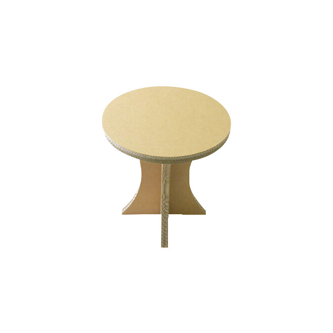 Bedside Round Table.Circle Side Table Bedside Table Sofa Side Table Sofa Side Table Special Reinforcement Corrugated Cardboard Assembling Tree Cricket Tool Unnecessary To