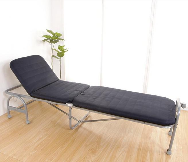 ベッド 折りたたみベッド マットレス カウチベッド リクライニング 折り畳み キャスター付き