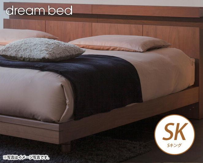 ドリームベッド マットレスカバー ホテルスタイル HS-611 サテン ボックスシーツ SKサイズ 45H ドリームベッド dreambed