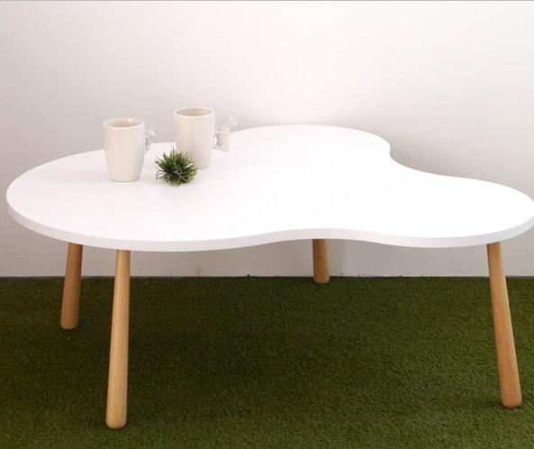 センターテーブル (約)幅105cm クル リビングテーブル L 幅104.5×奥行93×高さ38.5cm テーブル センターテーブル 木製 センターテーブル 北欧 モダン シンプルリビングテーブル センターテーブル 木製 天板