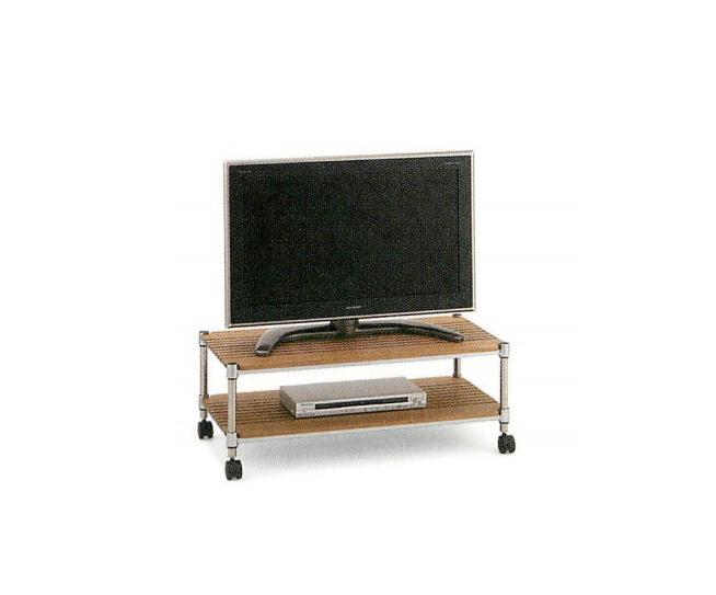 ホームエレクター テレビラック LV-15 セット品 幅90cm×奥行45cm×高さ34cm キャスター付きテレビ台 HomeERECTA テレビボード リビングボード リビング収納 スチールラック スチール棚
