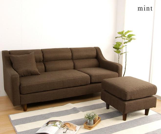 カウチソファ 3Pソファ ファブリックソファ 3way sofa レイアウト自由組み替えて3通り ワンルーム対応コンパクトカウチソファー 脚部を外してローソファ ソファー スツール
