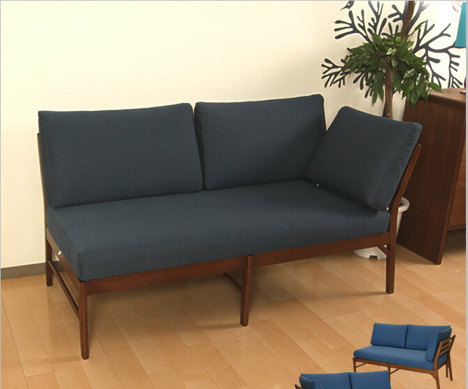 ダイニングベンチソファ 2人掛け ダイニング片肘ソファ フィグ ソファ 椅子、イス、リビングチェア 北欧風 ダイニングチェア ダイニングチェアー 食卓椅子 椅子 いす イス チェア チェアー