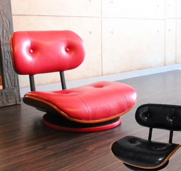 座椅子 回転 ローチェア ローラウンドチェア RDC-60 ミッドセンチュリー モダン レトロな座いす ザイス 360度回転 チェア 一人掛け 椅子 坐椅子 送料無料