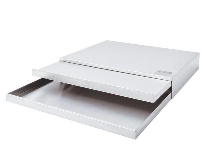 スライドテーブル 引き出し付き ステンレス 幅55 日本製 スライド式テーブル 引き出しスライドテーブル スライドテーブル 引き出し 引出し 引出 キッチン用品 スライド棚 スライドテーブル 作業台用 台車 シンプル 国産 [送料無料]