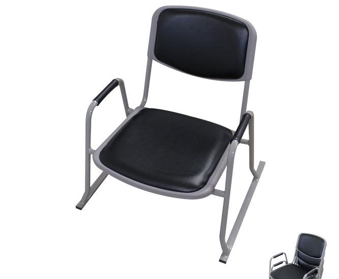 スタッキングチェアー 4脚セット 和座敷チェアー・肘付き 55.5×42×58cm 肘付き 積み重ね可能 座椅子 座いす チェア サポート付き スタッキング シンプル 椅子 和室 省スペース 完成品 [送料無料]