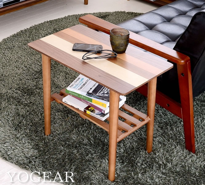 kagumaru: Beautiful Center tables w Walnut natural wood with wood ...
