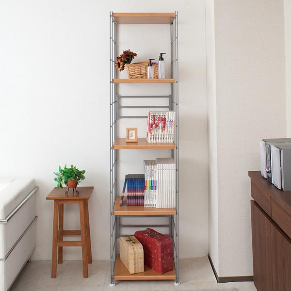 ... Open Rack Width 45 Cm X 181 Cm Tall Natural [NJ 0285] Shelf