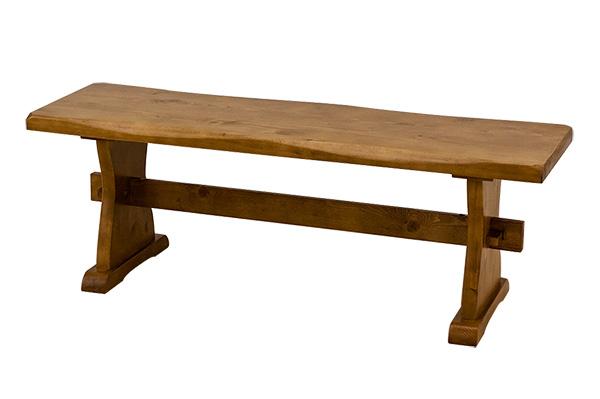 木製ベンチ ダイニングチェア 椅子 木製チェア 長椅子 パインダイニングベンチ120cm幅【送料無料】 送料無料