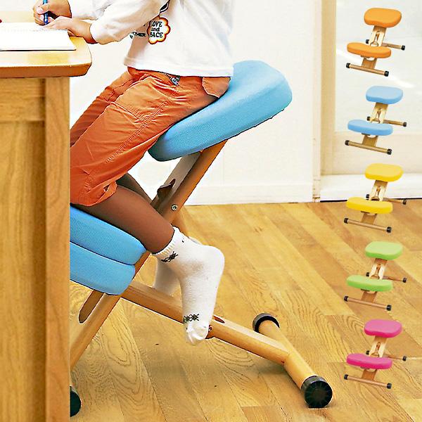 【背筋まっすぐ】プロポーションチェア キッズ CH-889CK 学習チェア 学習椅子 勉強チェア 勉強椅子 バランスチェア イス 椅子 チェア チェアー 学習チェアー 背筋矯正 姿勢 背すじ いす