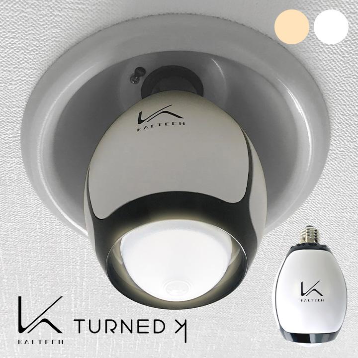 光触媒除菌・脱臭機 KALTECH(カルテック) 脱臭LED電球 ターンド・ケイ KL-B01 光触媒 除菌 脱臭機 電球 LED 40W相当 口金E26