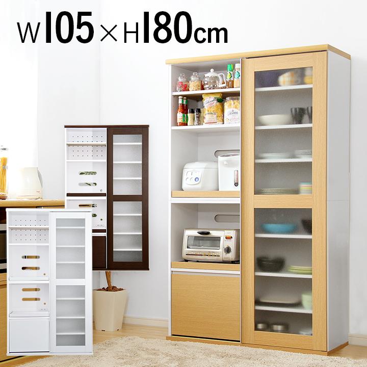 ガラス引戸食器棚 フォルムシリーズ Type1890