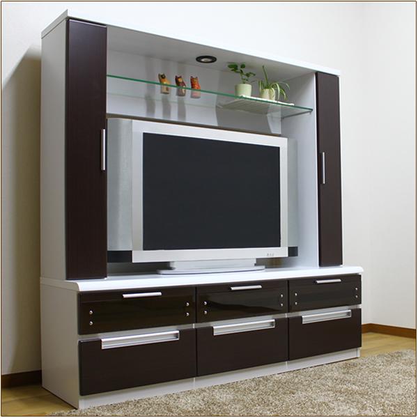 Snack Width 150 Cm TV Board TV Stand TV Stand Living Living Board AV Storage  Make High Type High Televi Board High TV TV Boards Furniture Store Okawa