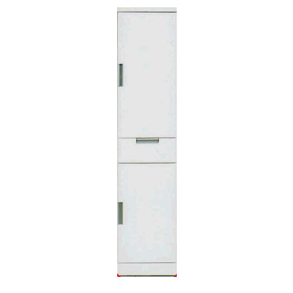 【送料無料】収納家具 シンプル 引出し 開き戸 40TT 2サイズ ホワイト 家具通販 大川市