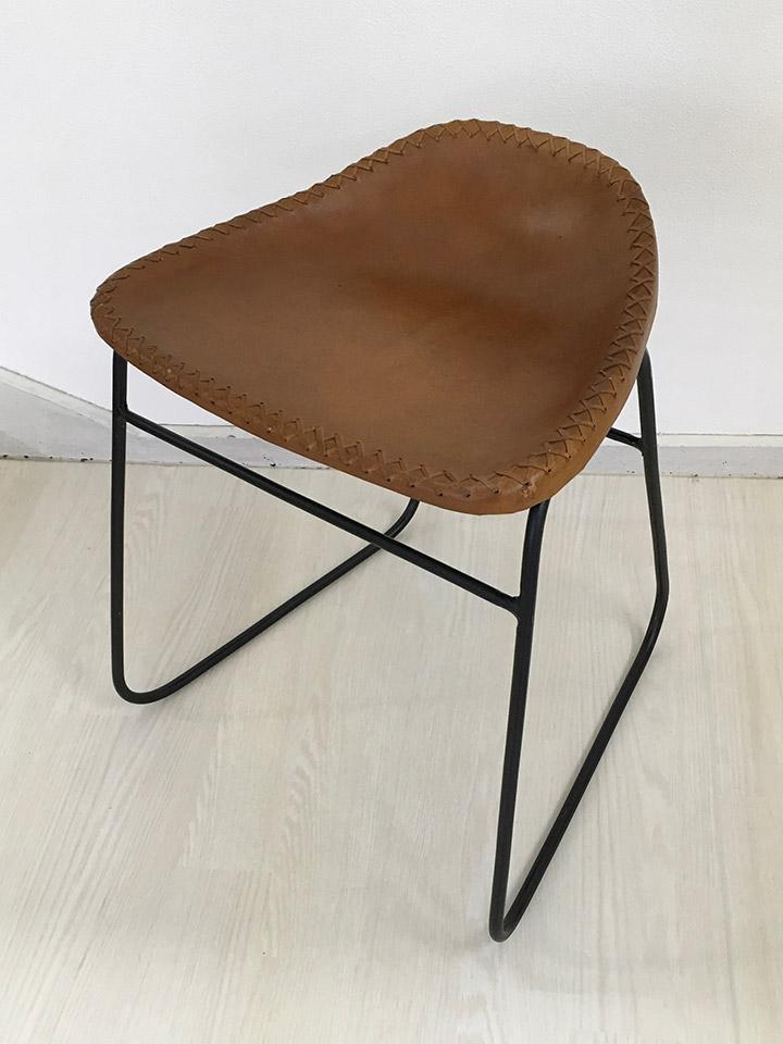 Genuine Leather Stool