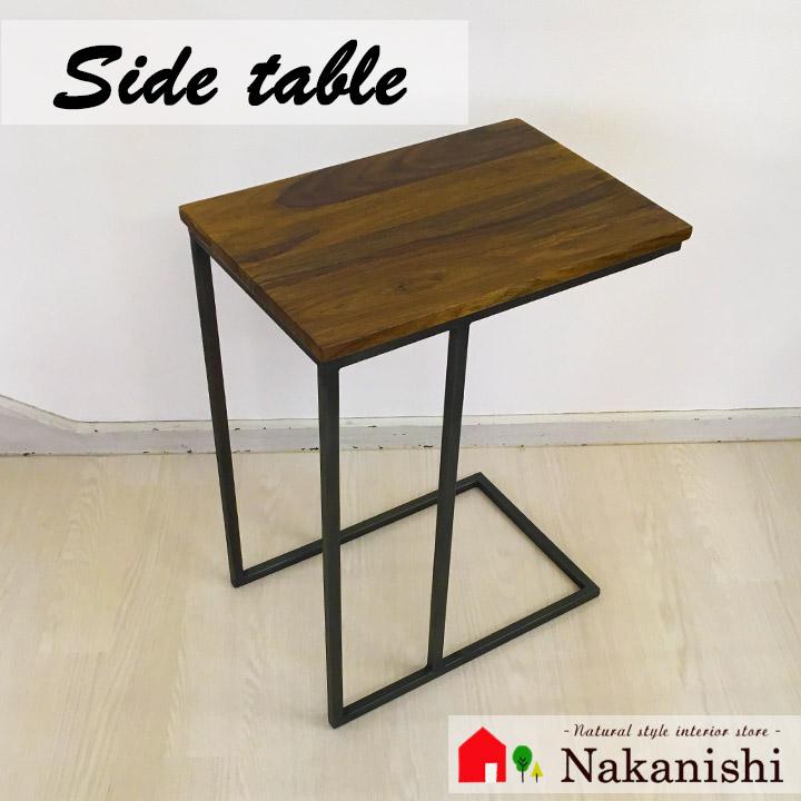 【ソファテーブル IAPF-311】ミニテーブル・サイドテーブル・アイアン・ヴィンテージ