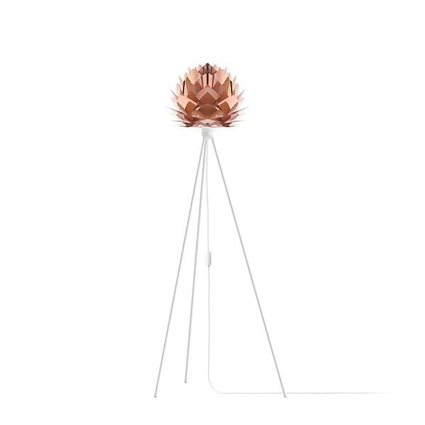 ELUX エルックス 02031tfwh VITA Silvia mini copper (Tripod Floor/ホワイト) 照明 照明器具 【電球別売】
