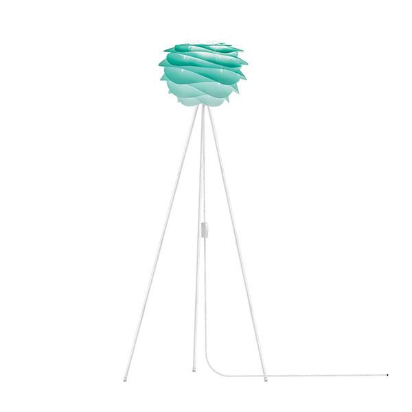ELUX エルックス 02059tfwh VITA Carmina mini turquoise (Tripod Floor/ホワイト) 照明 照明器具 【電球別売】