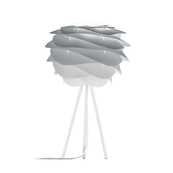 ELUX エルックス 02079ttwh VITA Carmina mini misty グレー (Tripod Table/ホワイト) 照明 照明器具 【電球別売】