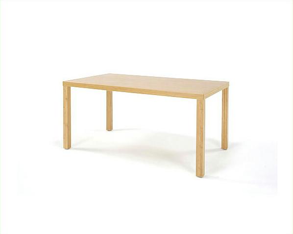 竹のダイニングテーブル角脚1200幅TEORI 竹装シリーズ【アジアン 和】ダイニング テーブル