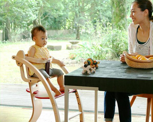 Sdi Fantasia Bambini + ベビーシートセット (バンビーニチェア) 男の子 女の子 6ヶ月 0歳 1歳 2歳 0才 1才 2才 インテリア 新築祝い 引っ越し祝い おしゃれ シンプル ナチュラル 木馬 遊具 子供用 チェアー 食事用 イス 椅子 通販
