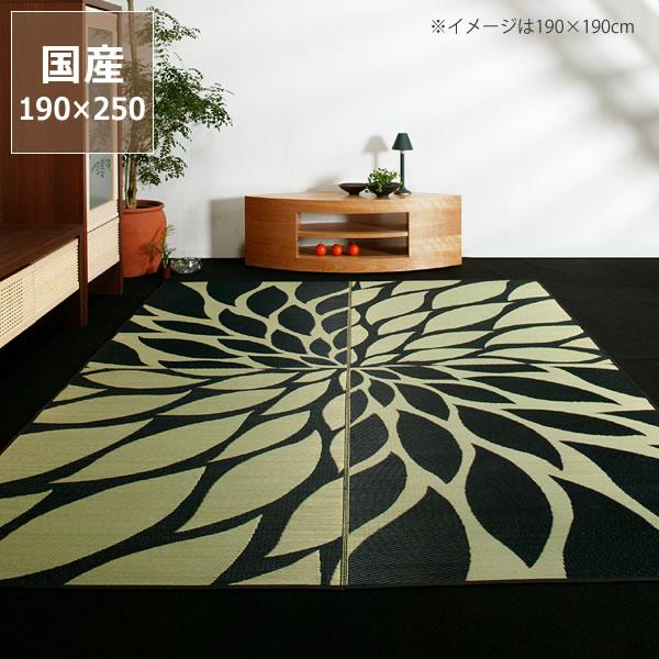 い草 ラグ い草ラグ い草カーペット「ダリア」(190×250cm)(裏貼り加工)い草上敷き  昼寝