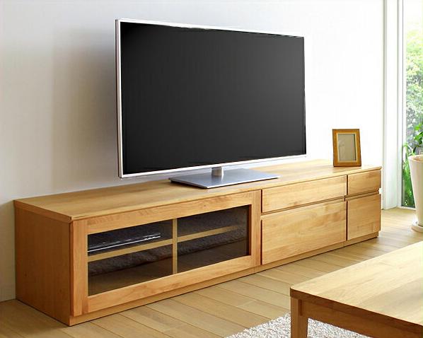 お好みに並べ替えできて使いやすい木製テレビボード・テレビ台 180cm幅(アルダー)【テレビボード テレビ台 tvボード tv台】 シンプル モダン リビング おしゃれ家具 オシャレ家具