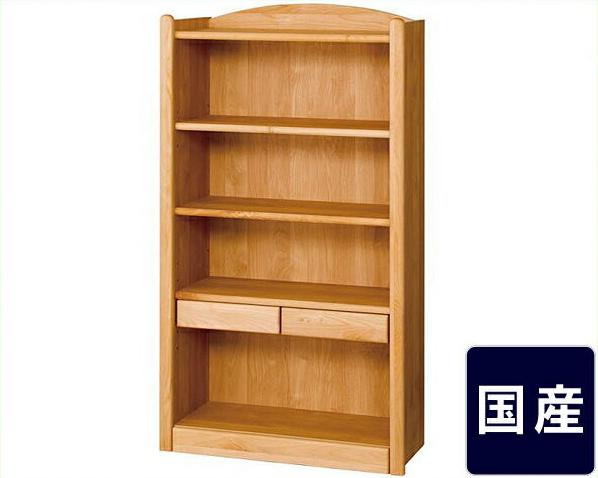 木のぬくもりがあり使いやすいロー書棚 インテリア 新築祝い 引っ越し祝い おしゃれ シンプル 木製 収納 コミック 通販 棚付き ナチュラル