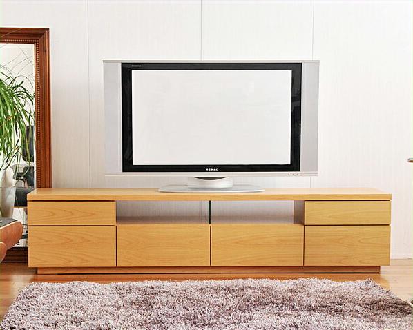 流れる木目が温かでシンプルなテレビボードアルダー 幅180cm テレビ台 tvボード tv台 モダン リビング おしゃれ家具 オシャレ家具 完成品