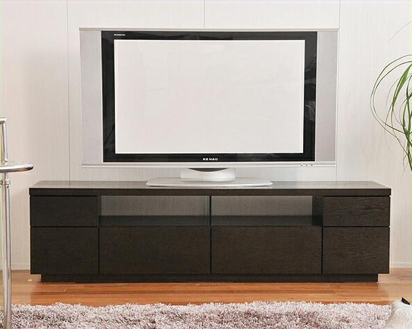流れる木目がシックでシンプルなテレビボードタモ 幅150cm テレビ台 tvボード tv台 モダン リビング おしゃれ家具 オシャレ家具 完成品