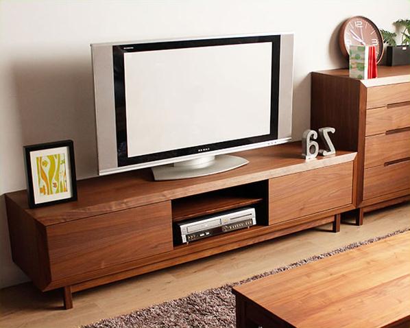 上質な存在感のある木製テレビ台・テレビボード(幅180cm) tvボード tv台 シンプル モダン リビング おしゃれ家具 オシャレ家具 完成品