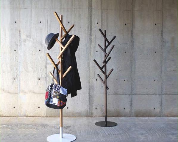 abode(アボード)ポールハンガー FORTYデザイナー 津留 敬文※代引き不可ポール ハンガー ハンガーポール 木製 ハンガーラック コートハンガー スタンドハンガー ラック コート掛け コートかけ 玄関 帽子掛け