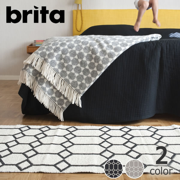 Brita Sweden(ブリタ スウェーデン)イン&アウトドアラグ プラスチックフォイル70×150 Ingrid雑貨 ギフト 贈り物 父の日