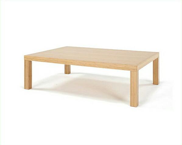 竹のリビングテーブル角脚1200幅TEORI 竹装シリーズ【アジアン 和】