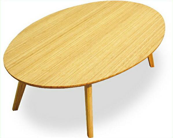 竹のリビングテーブル TEORI 竹装シリーズ【アジアン 和】