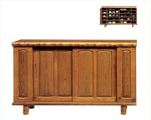 木製下駄箱・シューズボックスT-9シリーズ 幅180cm【シューズラック 玄関収納】