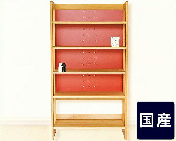 【杉工場】女性視点デザインの木の書棚・本棚ラックMUCMOC(ムックモック)