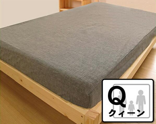 ジンバブエボックスシーツクイーン(Q1)サイズ【マットレスカバー シーツ 布団カバー】 ドリームベッド dream bed